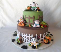 16 Melhores Imagens De Bolo Fake Fazendinha Farm Cake Farm