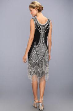 robe charleston années 20 inspirée par Gatsby le Magnifique