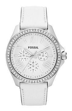 Fossil sparkling #crystal bezel watch  http://rstyle.me/n/f87gjpdpe