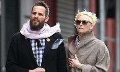 Three years on Tilda Swinton shows she is closer than ever with her toyboy lover   Daily Mail Online