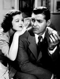 Myrna Loy& Clark Gable