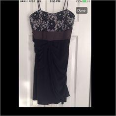 Taboo Black Dress Taboo Black Dress tag says large, but it fits more like a medium. Taboo Dresses