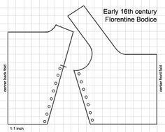 Florentine Bodice Pattern
