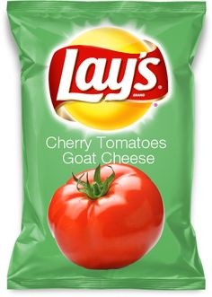 Would you eat Cherry Tomatoes Goat Cheese flavored @LAYS? #Vote for me