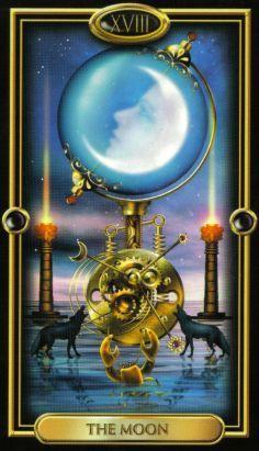 The Gilded Tarot ► The Moon