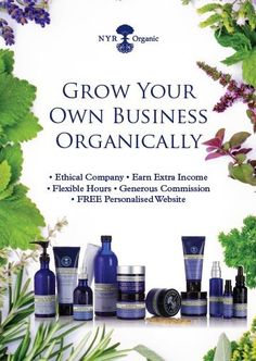 Grow your own NYR ORGANIC Business!  Contact me to learn more! Join us for only $99. and a FREE WEBSITE to share and build your business. Beth Camille Byram - em: face2face@cox.net  More details -->> https://us.nyrorganic.com/shop/face2face/area/become-a-consultant/