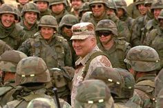 """""""Leadership is a combination of character and strategy. If you must be without one, be without the strategy."""" — Norman Schwarzkopf"""