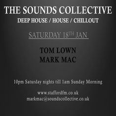 ▶ THE SOUNDS COLLECTIVE MARK MAC AND TOM LOWN 18.01.2014 by markmacshow