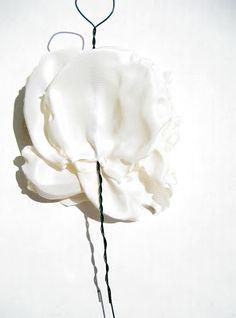 Running With Scissors: DIY: Fabric Flower Wedding Bouquet