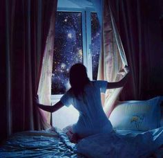 (Open RP. Guy needed) She was the girl everyone knew, but nobody spoke of. Beautiful, always wistful. Off in her own world so often... some said she was in touch with her inner self. Others said she was in touch with the stars. She never spoke, never tried to socialize with anyone. She lived alone as well. As she sat in class, staring into nothing, only one boy seemed to notice her far off expression. It piqued his interest. People never approach her anymore. They hardly knew anything about…