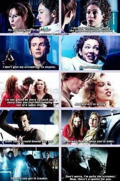 Do you know him or don't you? Dr Who Spoilers, Face Of Boe, General Doctor, Martha Jones, Alex Kingston, Doctor Who Quotes, Destroyer Of Worlds, Donna Noble, Rose Tyler