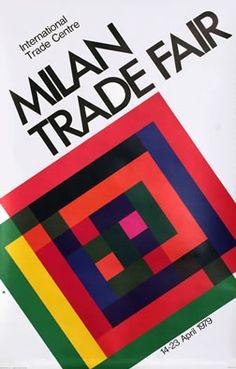 Artist Unknown poster: Milan Trade Fair 1979