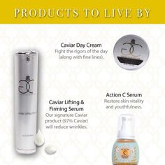 Looking for those must haves? Try these! Visit www.goldencaviarskincare.com for more information. #GCSC #ProductsToLiveBy
