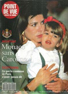 + Point de vue N°2245 Caroline de Monaco,Comtesse de Paris avec Charlotte