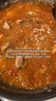 The Colorado Green Chili appears often on lists that name the most iconic foods in Colorado. The Green Chili is often used as a topping for another dish (a burrito for example). Try out this recipe for Colorado Green Chili – you will love it! Chilli Recipes, Pork Recipes, Mexican Food Recipes, Cooking Recipes, Cooking Tips, Recipies, Chile Colorado, Colorado Green Chili Recipes, Colorado Pork Green Chili Recipe