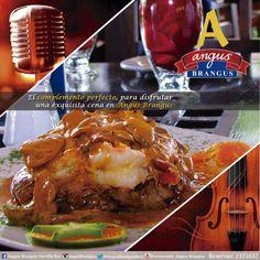 El complemento perfecto para una exquisita noche, lo encuentras en #AngusBrangus con #músicaenvivo. #Medellín