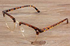Wholesale 2013 Brand Designer Glasses For Men Women Half Frame Round Retro Glasses Classic Optical Vintage Eyewear Oculos-in Accessories fro...