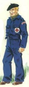 (11) Voluntario de la Unidad de Transfusión de Sangre canadiense.