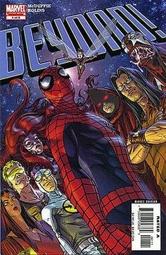 Beyond! - Wikipedia, the free encyclopedia series follows a group of mismatchedsuperheroesandsupervillains—Hank Pym, theWasp,Gravity,Medusa,Firebird,Alyosha Kravinoff,Venom(Mac Gargan),The Hoodand theSpace Phantom—who have been abducted by acosmic entity, supposedly TheBeyonder, to the alienBattleworldfor unknown purposes.Deathlokwas later introduced to the roster.