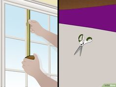 How to Make a Roman Shade. Unlike standard curtains and blinds, Roman shades create a smooth, streamlined silhouette and allow only the desired amount of light into a room. Bay Window Blinds, Blinds For Windows, Roman Curtains, Roman Blinds, Stores Horizontaux, How To Make A Roman Blind, Roman Shade Tutorial, Store Bateau, Diy Roman Shades