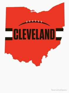 Cleveland Browns History, Cleveland Browns Football, Cleveland Rocks, Cleveland Ohio, Sports Ohio, Sports Logos, Football Stuff, Sport Football, Fall Drawings