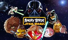A long time ago in a galaxy far, far away... Angry Birds !