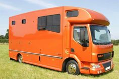 Burnt orange metallic paintwork on one of our Helios #horseboxes.  #horsehour