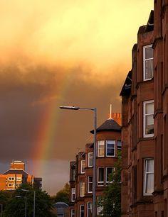 Shawlands , Glasgow ........ evening ...... by Kenny Muir