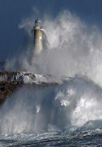 Mouro Ilha do Farol, Santander, Espanha