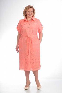 Платья для полных женщин белорусской компании Pretty. Лето 2017 (60 фото) 76fb8eef83