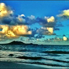 Kailua Beach, 1/28/12  By Esme Infante Nii  All rights reserved