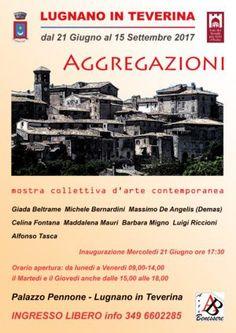 Arte contemporanea in mostra a Lugnano: Aggregazioni