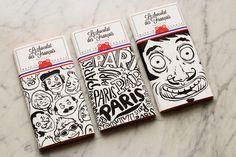 #packagingdesign #illustrationen hier: »Le chocolat des Français«