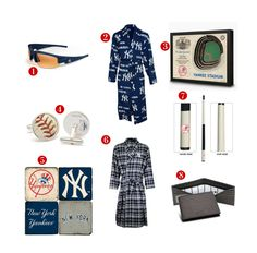 8 Great Father's Day Gift ideas for the avid New York Yankees Fan! See all of our Yankees gifts at http://www.topnotchgiftshop.com/new-york-yankees.html