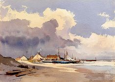 Seashore - Edward Seago 1910- 1974