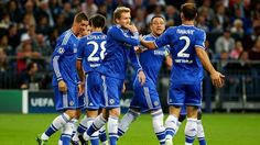 Joy for @Chelsea FC after @John Torres's goal against @Julie Sitzes ... #UCL pic.twitter.com/KjbHMED8rS