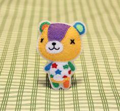 "Fridge Magnet! Animal Crossing's ""Stitches"""