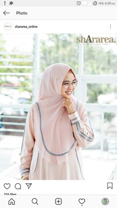 Cara Hijab, Hijab Style Tutorial, Hijab Ideas, Modele Hijab, Abaya Style, Abaya Fashion, Abayas, Niqab, Neck Scarves