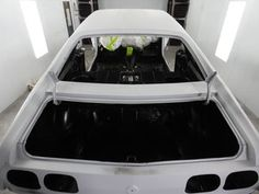 Painted the interior of the car and the engine bay.