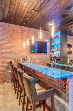 33 Basement Lighting Ideas | Sebring Design Build Dramatic Lighting, Lighting Ideas, Lighting Design, Laundry Room Lighting, Basement Lighting, Finished Basements, Basement Finishing, Wet Bars, Amazing Spaces