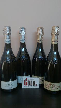 Fantastische alcoholvrij mousserende wijnen van Donelli in prachtige fles van Sergio Scaglietti! Alles richting Nuenen!  http://www.peccatidigola.nl/catalogsearch/advanced/result/?manufacturer%5B%5D=13