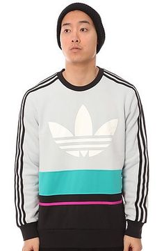 The C90 Art Crewneck Sweatshirt in Light Grey, Black,