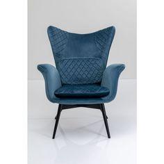 Πολυθρόνα Tudor Velvet Ανοιχτό Μπλε Πολυθρόνα χειροποίητης κατασκευής σε ανοιχτό μπλε χρώμα πολυεστερικού υφάσματος βελούδινης υφής, με μεταλλικό σκελετό από ατσάλι και πόδια από μασίφ ξύλο οξιάς. Είναι διαθέσιμη σε περισσότερα χρώματα!  #interiordesign #style #art #fashion #architecture #interior #decor #home #designer #homedecor #inspiration #interiors #love #instagood #luxury #interior4all #architecture #luxuryinteriors #luxurylifestyle Wingback Chair, Armchair, Interior S, Interior Design, Kare Design, Tudor, Accent Chairs, Velvet, Furniture