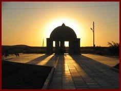 sun over a mosque