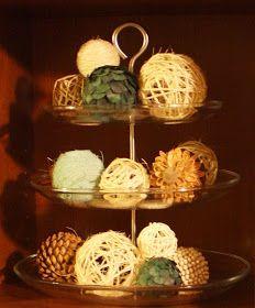 bayberry creek Crafter: DIY Decorative Balls