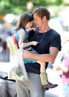 Alexander Skarsgard on a movie set or something. I don't know, my brain short circuited after this photo.