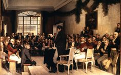 Oscar Arnold Wergeland: The National Assembly at Eidsvoll passing the Norwegian Constitution in 1814 History Of Norway, World History, Norwegian People, Constitution Day, National Art, My Heritage, Oscars, The World's Greatest, Fine Art America
