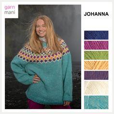 no - Spesialist på islandsk garn Ravelry, Pullover, Spring, Sweaters, Design, Fashion, Threading, Model, Moda