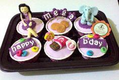 choco lover cupcake girl