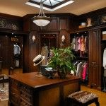 Dressing Room Design and Décor - Hunt Club Valet from Wood-Mode - Small Walk In Closet Design, Closet Designs, Master Closet, Closet Bedroom, Closet Space, Master Bedroom, Wood Mode, Men Closet, Luxury Closet